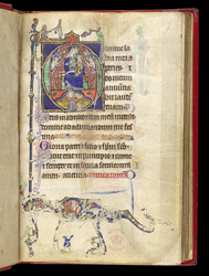 Virgin and Child, in a Book of Hours